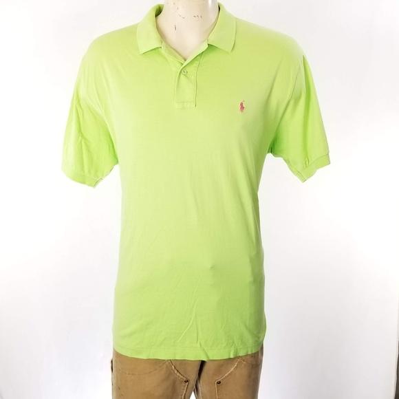 3544af4c Polo by Ralph Lauren Shirts   Polo Ralph Lauren Mens Green Polo ...